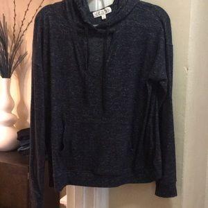 Charcoal Hoodie Sweater